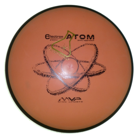Atom Electron Missprint Orange