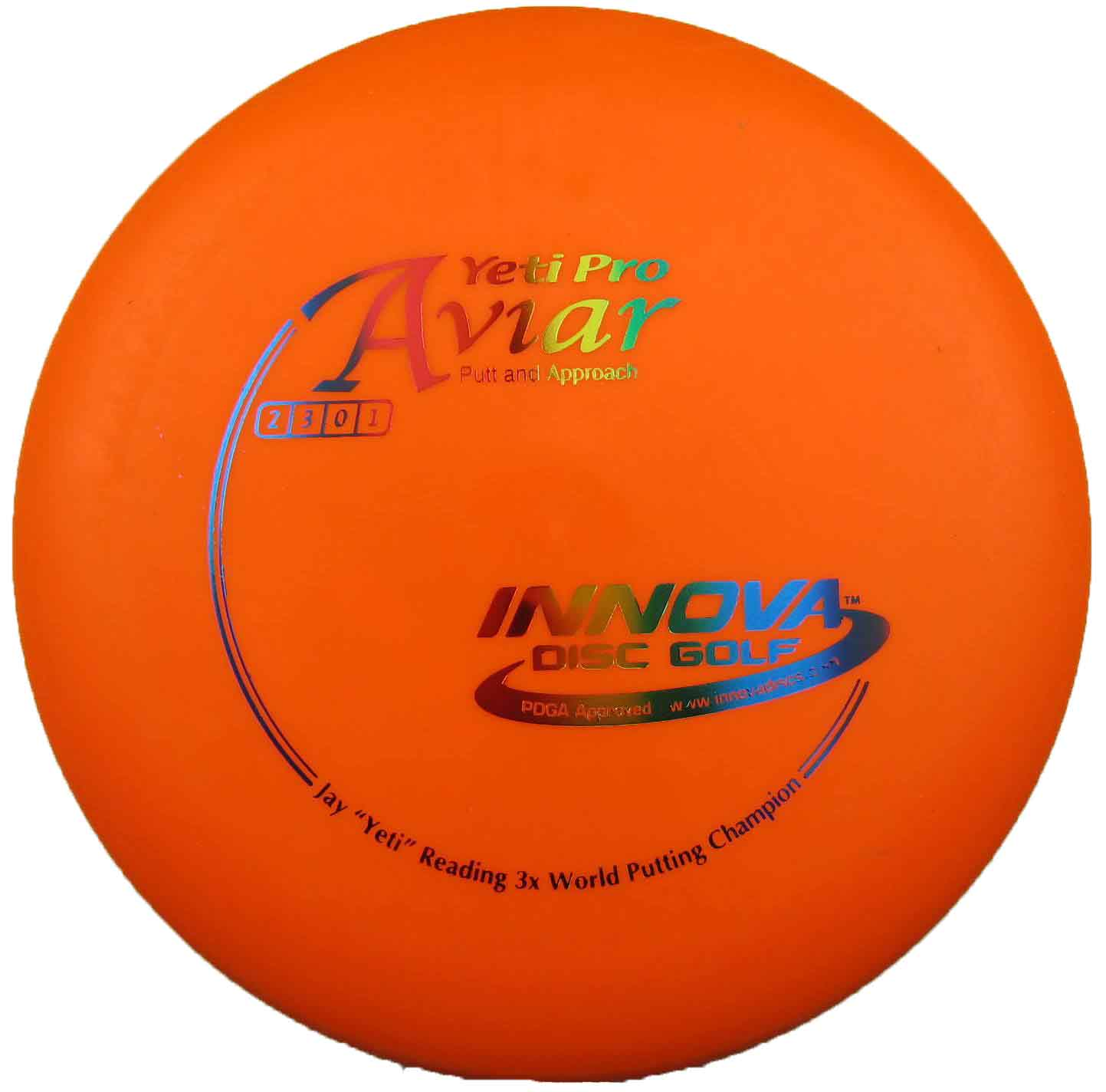 Aviar Yeti Pro Orange
