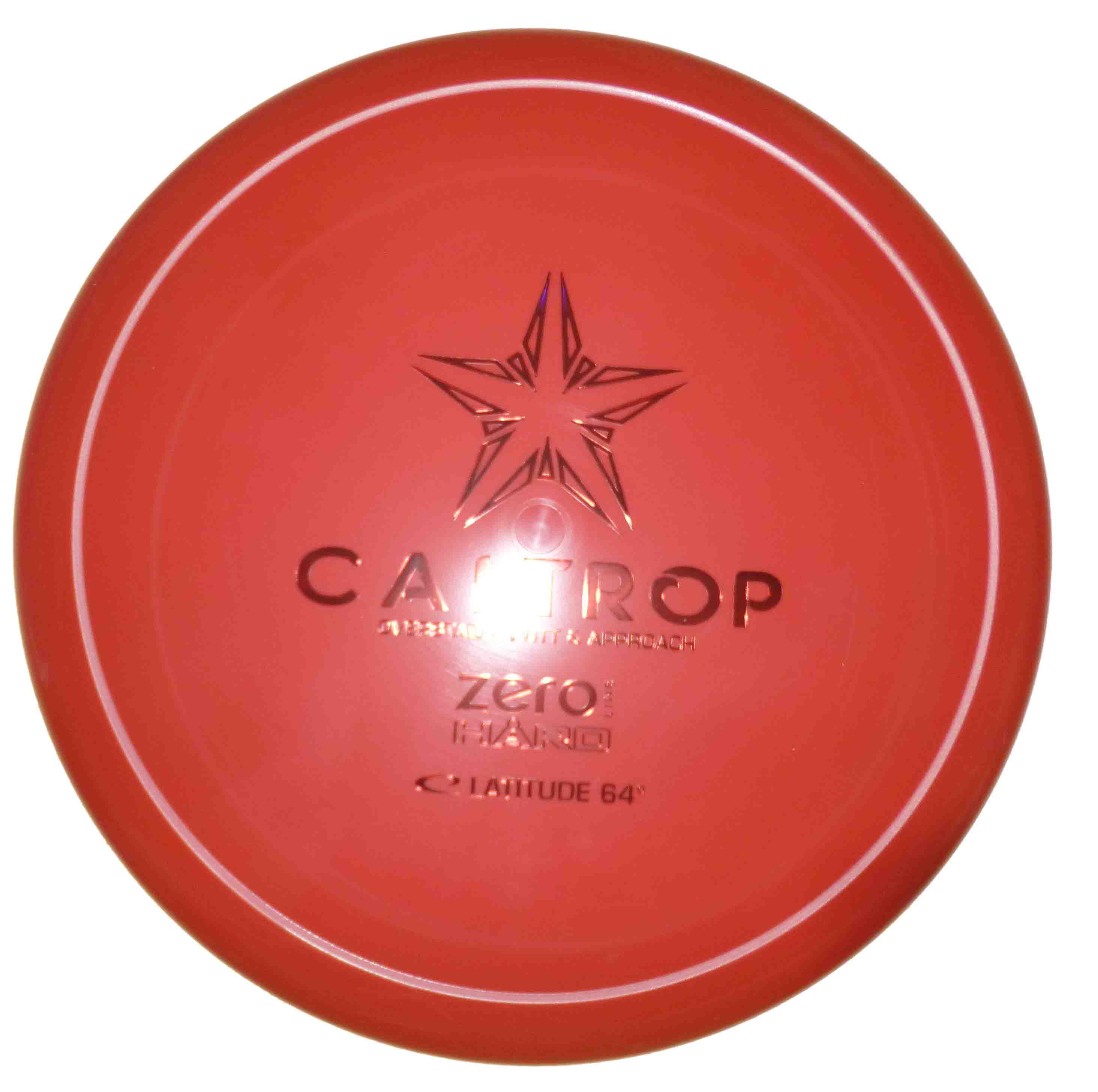 Caltrop Zero Hard red