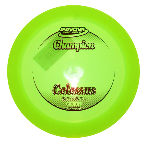 Colossus Champion yellow