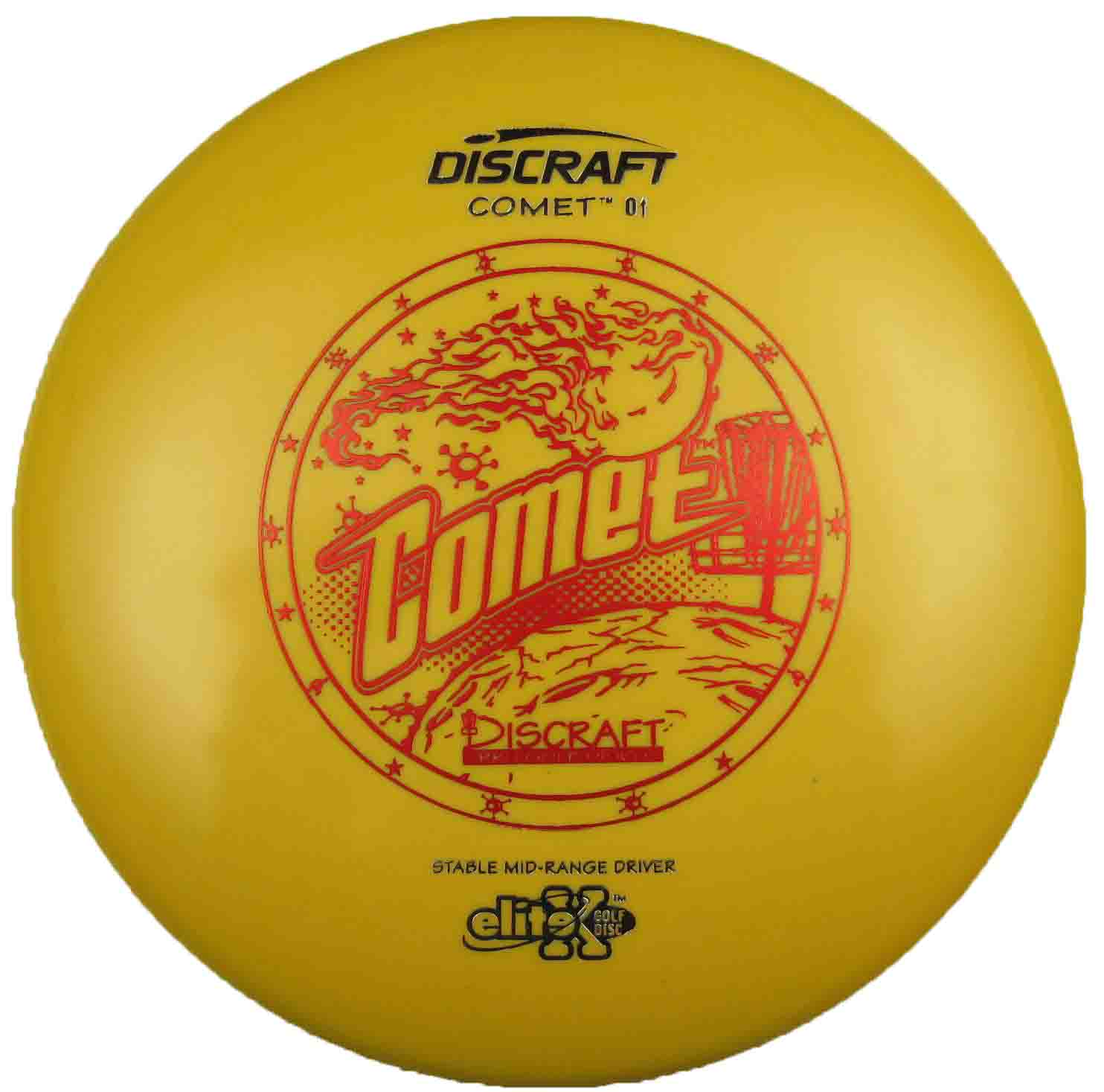 Comet Elite X Yellow Missprint