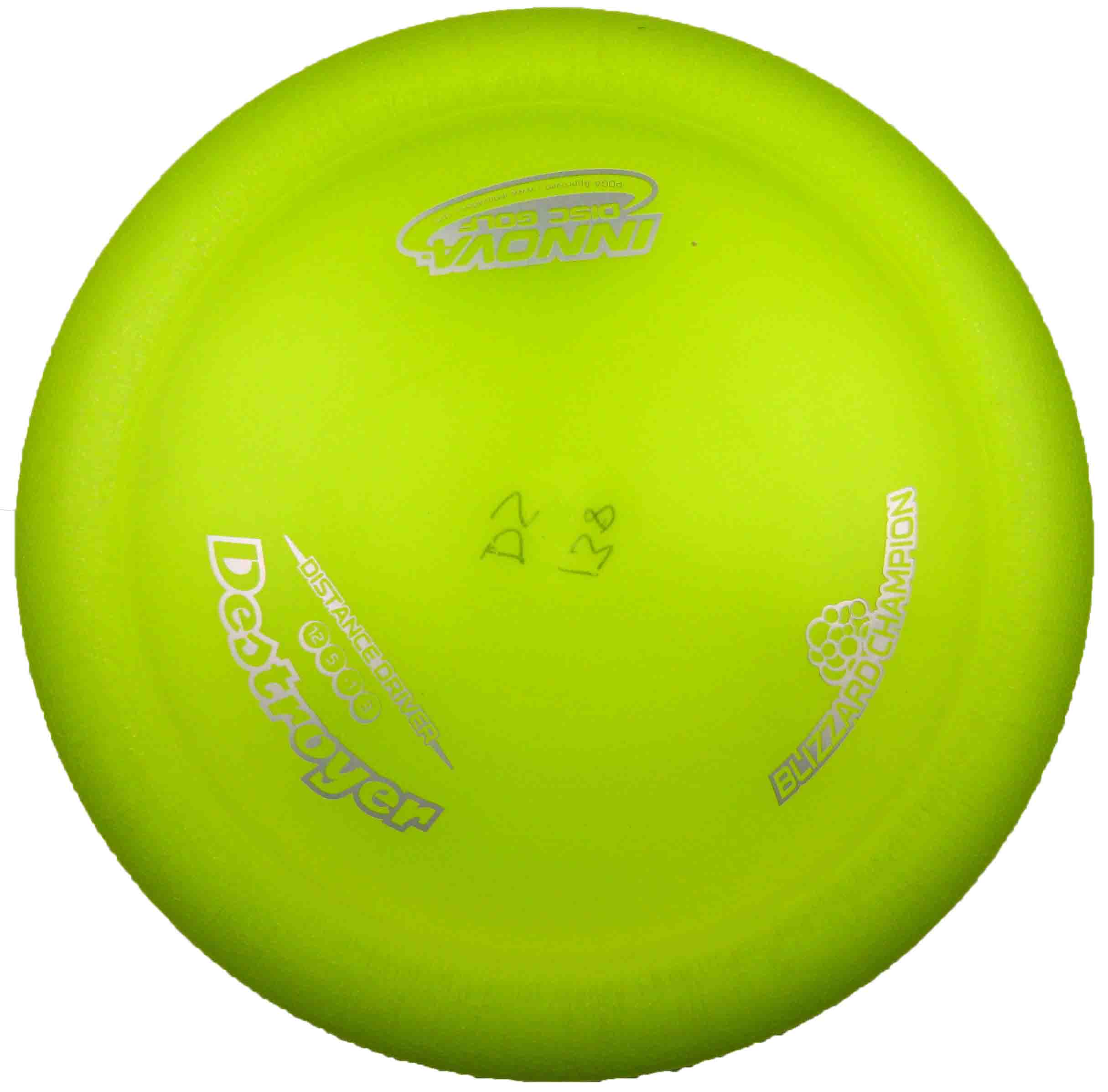 Destroyer Champion Blizzard Yellow