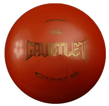 Gauntlet Medium Zero red
