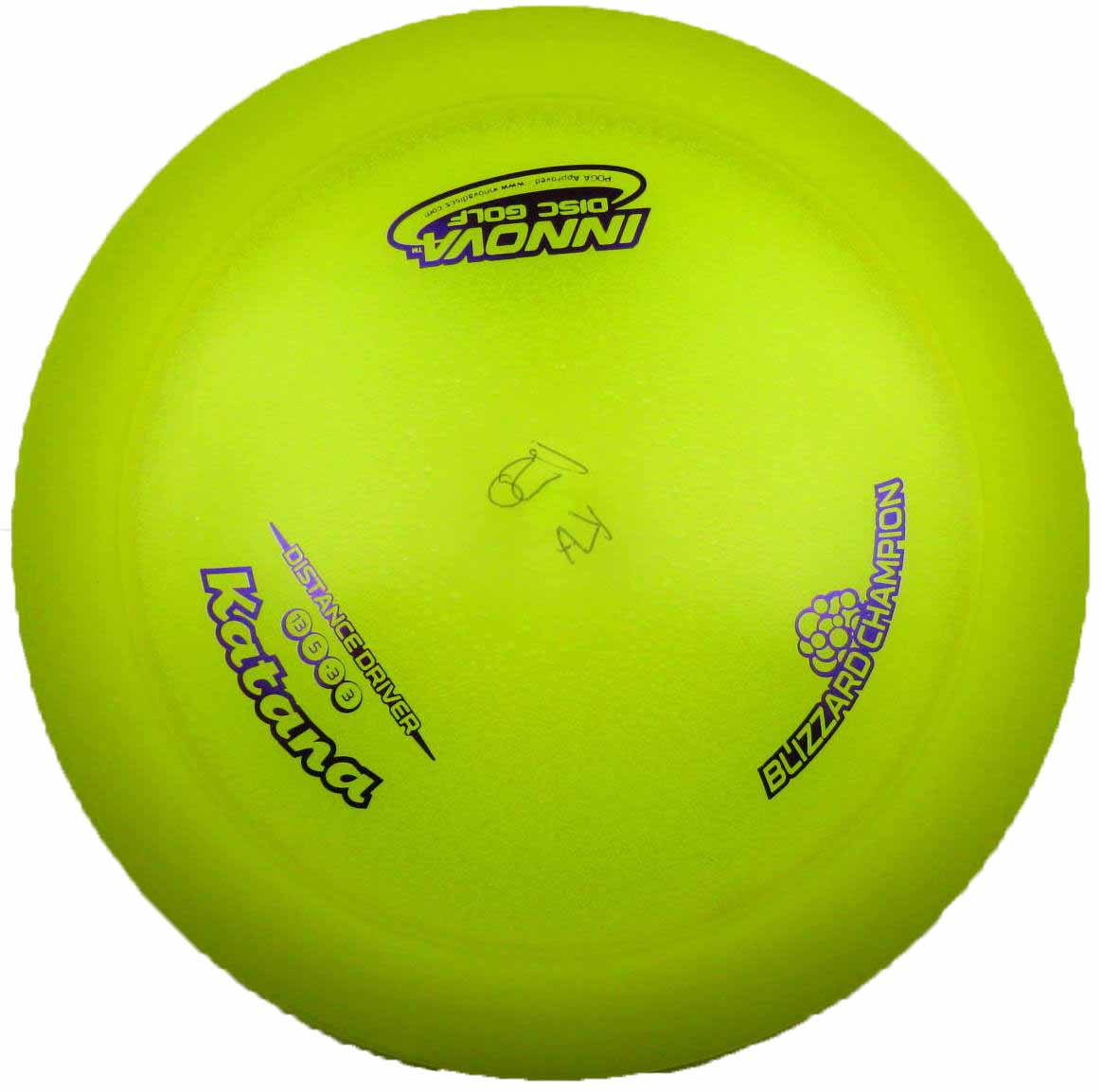 Katana Champion Blizzard Yellow