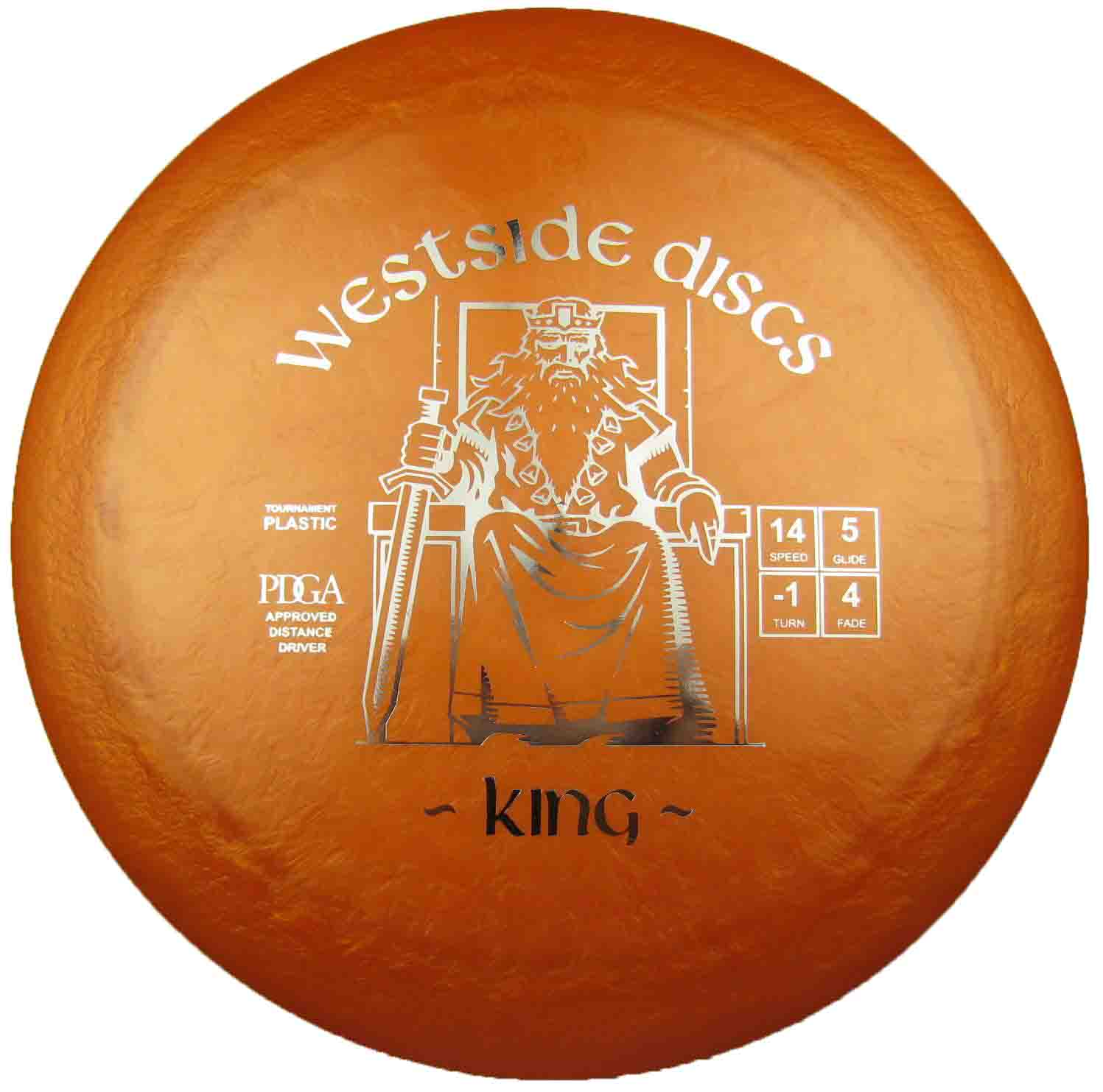King  Tournament Orange