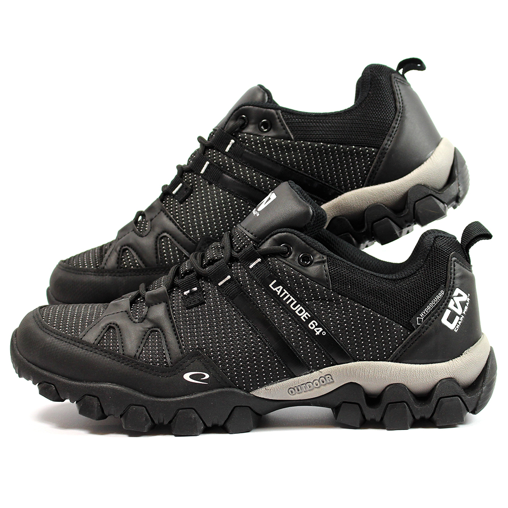 T - Link Disc Golf Shoes Black Size U.S.9.5