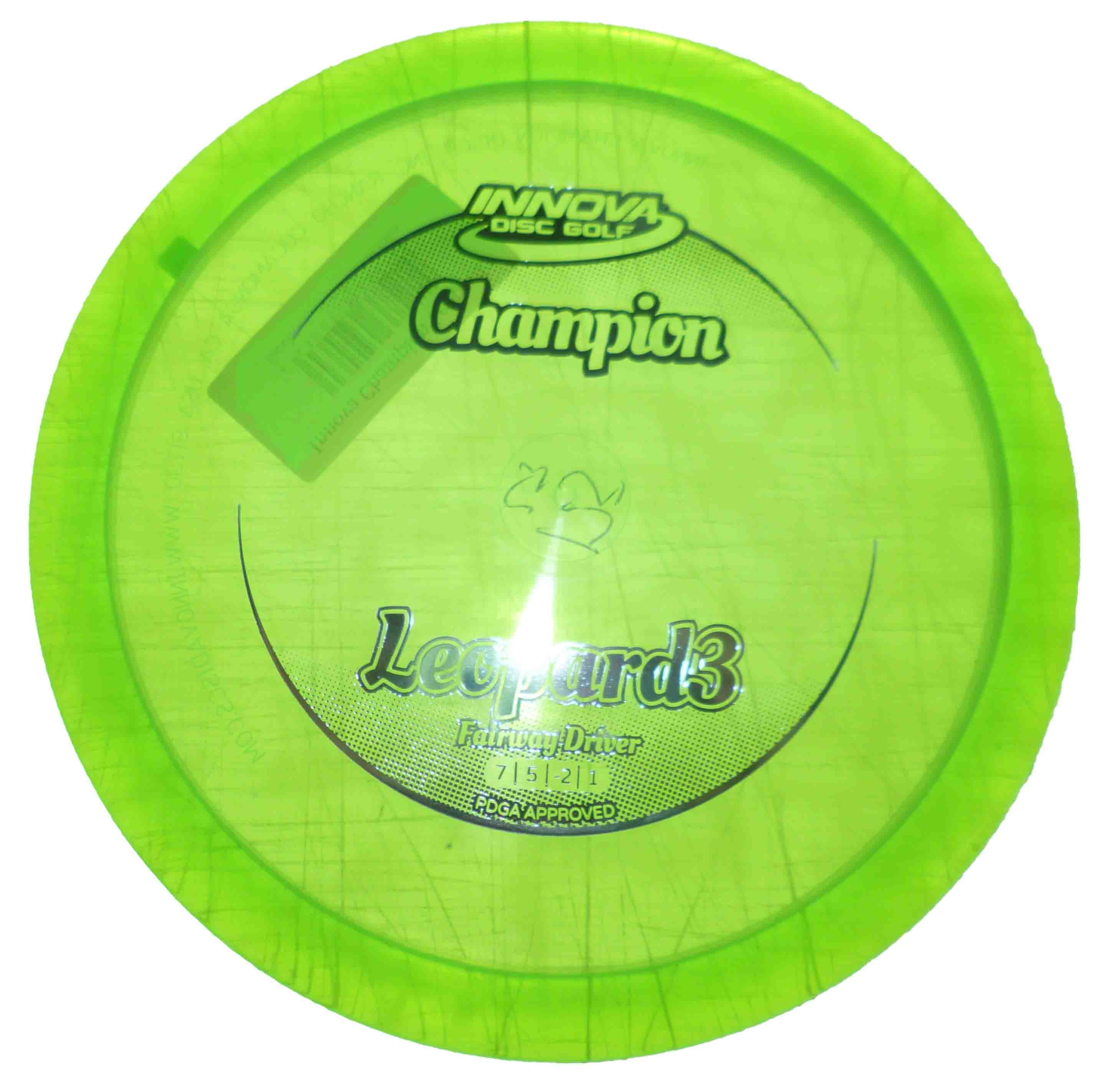 Leopard 3 Champion green