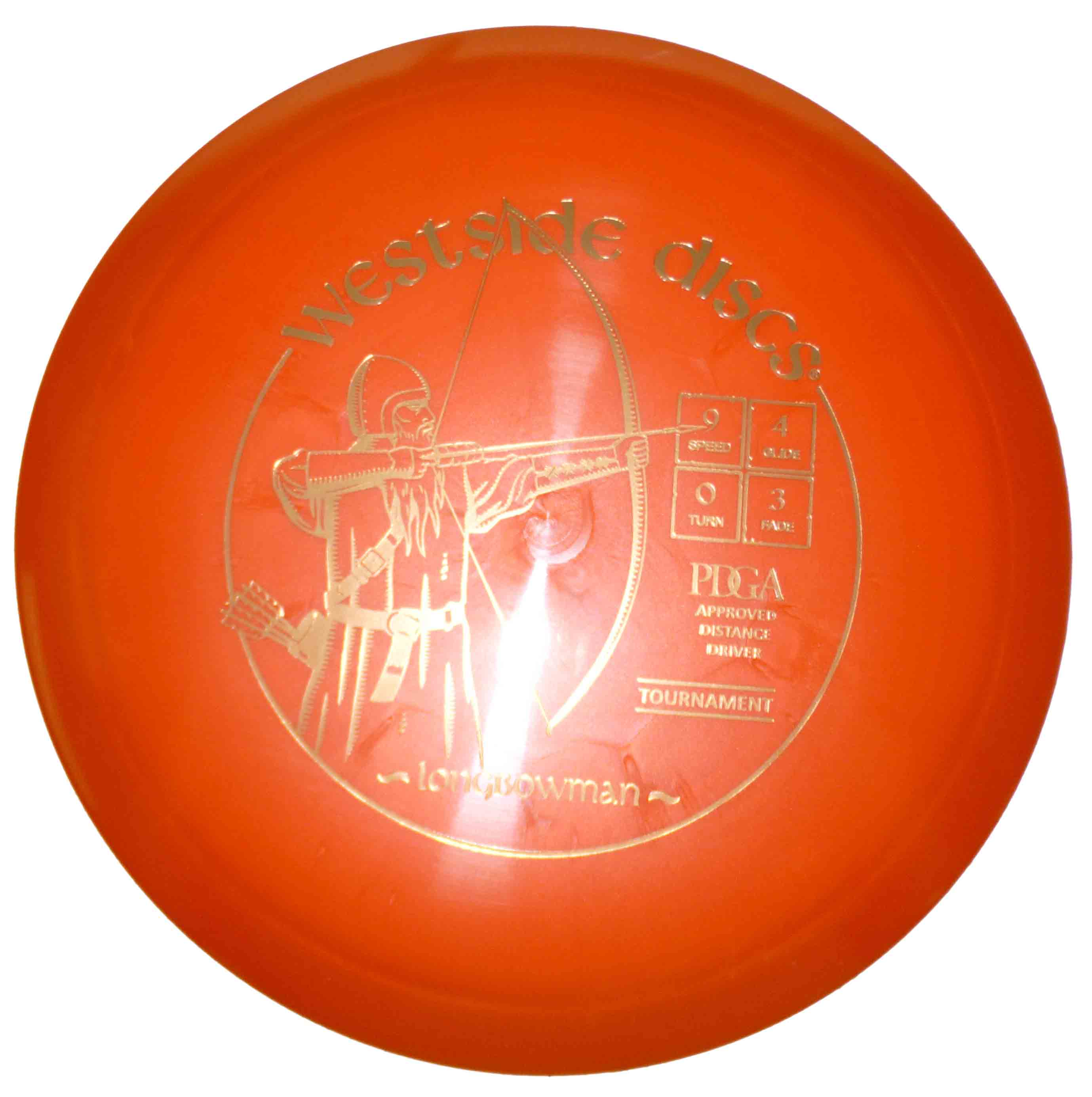 Longbowman Tournament Orange