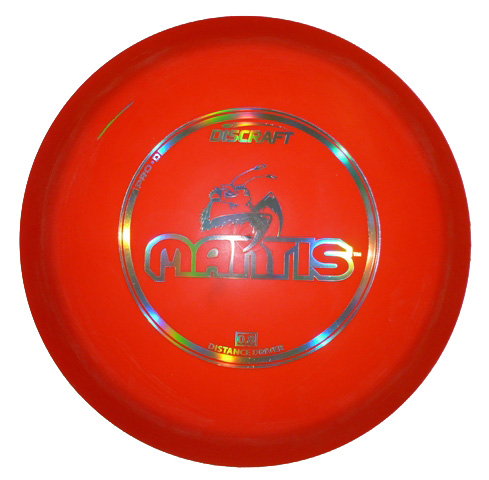 Mantis Pro D Orange MIssprintBlue