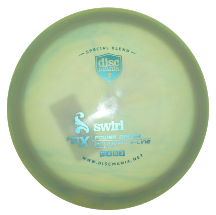 PDx S Line Limited Edition Swirly Baby Blau