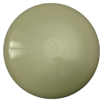 Diamond Gold White Blank Disc
