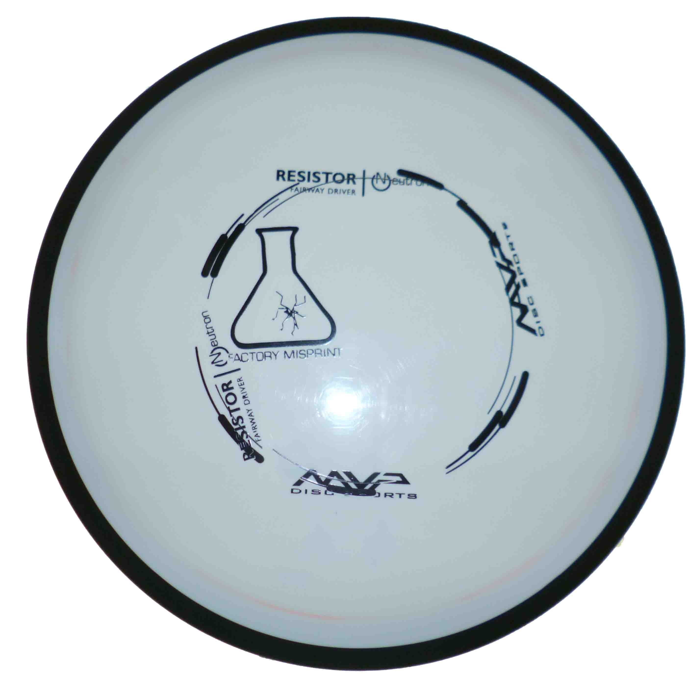 Resistor Neutron - Missprint White