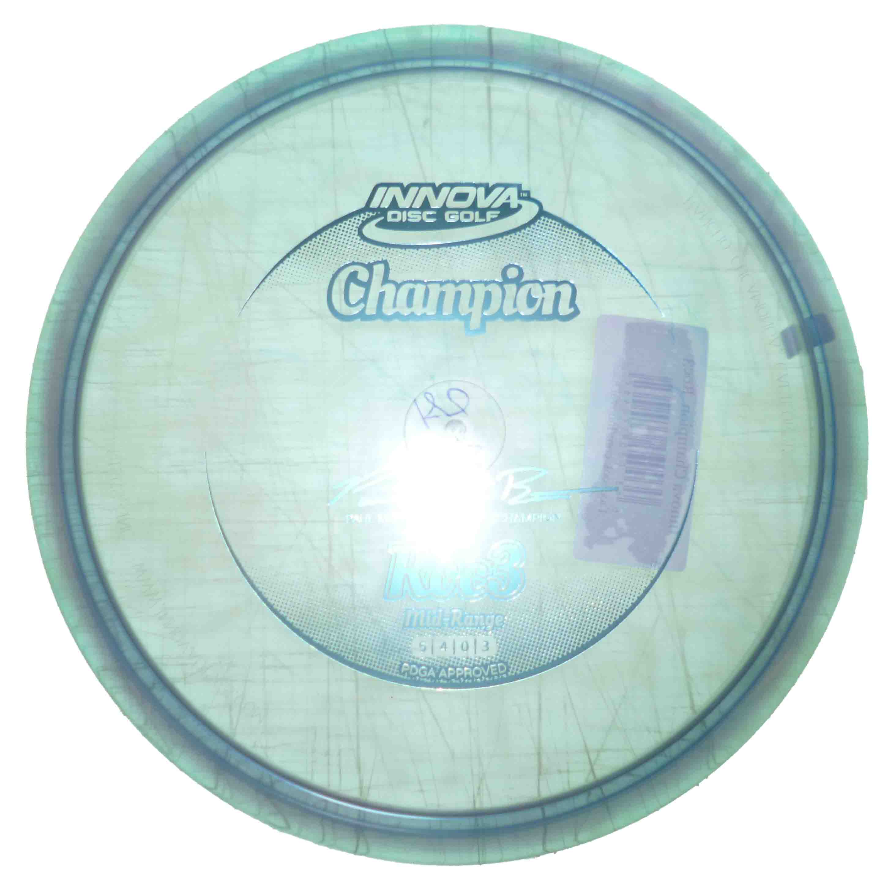 Roc 3 Champion Baby Blue