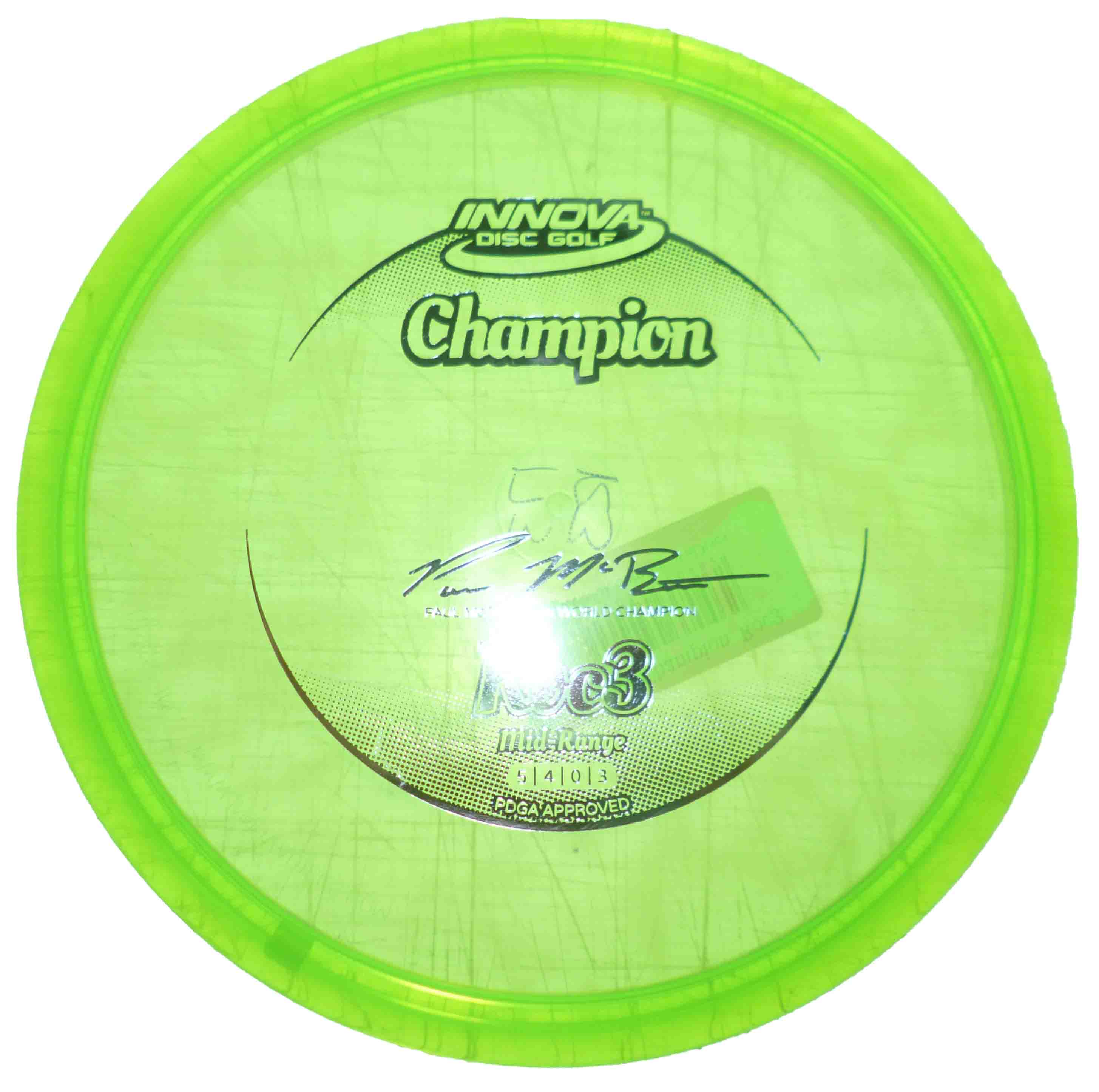 Roc 3 Champion Green