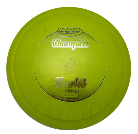 Shark 3 Champion Yellow