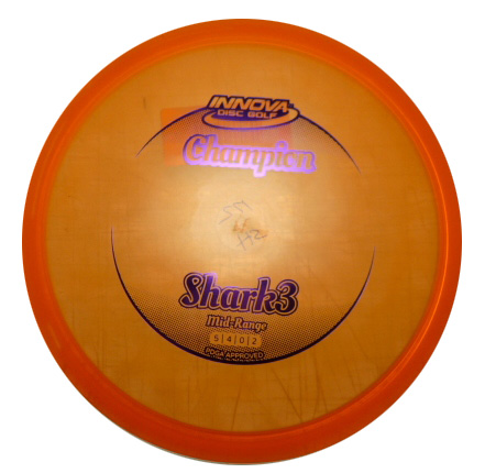 Shark 3 Champion Orange