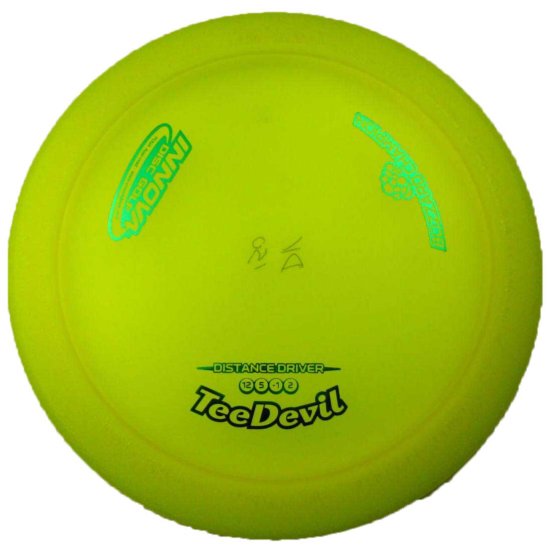 Tee Devil Blizzard Yellow